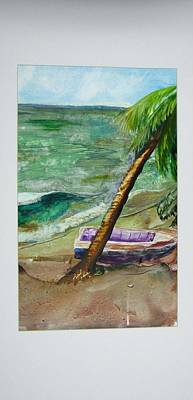 Caribbean Morning II Art Print by Keith Thue