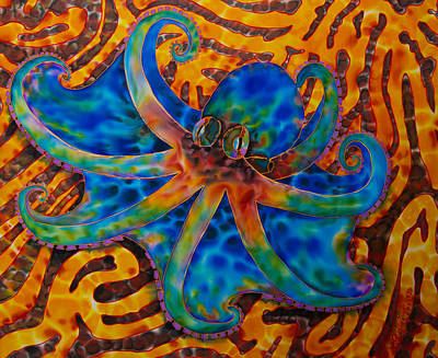 Caribbean Octpus Art Print