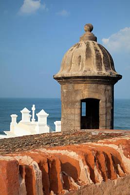 Old San Juan Photograph - Caribbean, Puerto Rico, Old San Juan by Jaynes Gallery