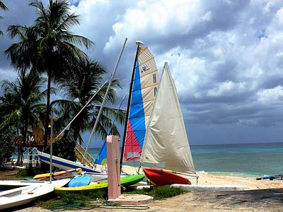 Superhero Ice Pops - Caribbean Sailboat by Dwight Pinkley