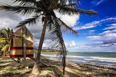 Caribbean Side Of Puerto Rico Art Print by George Oze
