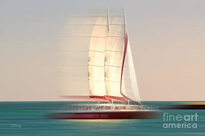 Photograph - Caribbean Spirit Trade Winds  by Rene Triay Photography