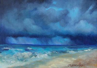 Caribbean Storm Art Print