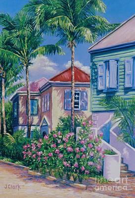 Caribbean Style   9x13 Art Print by John Clark