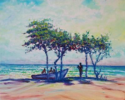 Painting - Caribbean Sun by Joseph   Ruff