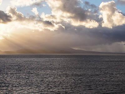 Photograph - Caribbean Sunset 2 by Karen Zuk Rosenblatt