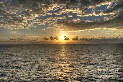 Photograph - Caribbean Sunset  by Ines Bolasini