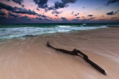 Art Print featuring the photograph Caribbean Sunset by Mihai Andritoiu