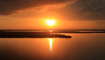 Photograph - Caribbean Sunset by Milena Ilieva