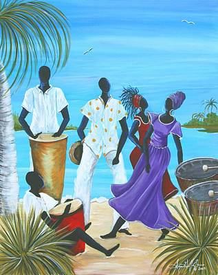 Caribbean Breeze Art Print