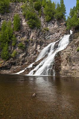 Impressionist Landscapes - Caribou Falls 2 by John Brueske