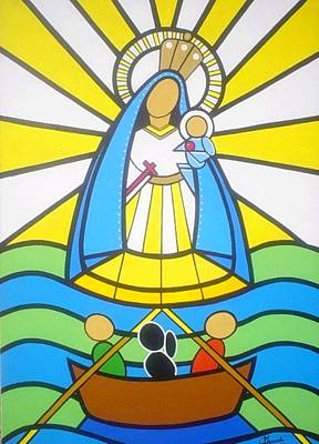 Santeria Painting - Caridad by Carlos Granela