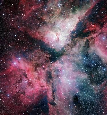 Inauguration Photograph - Carina Nebula by European Southern Observatory
