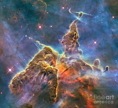 Photograph - Carina Nebula Ngc 3372 by Rod Jones