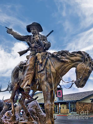 Photograph - Caring Cowboy by Brenda Kean