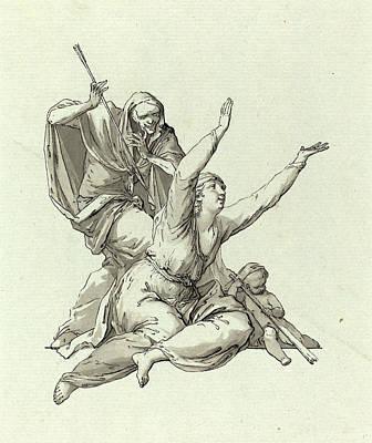 Carl Gotthard Langhans, German 1732-1808 Art Print by Litz Collection