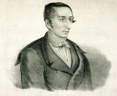 Pianist Photograph - Carl Maria Von Weber by British Library