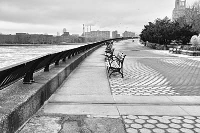 Photograph - Carl Schurz Esplanade by Cornelis Verwaal