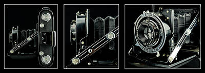 Ikon Photograph - Carl Zeiss Ikon Nettar 515 I by Tommytechno Sweden