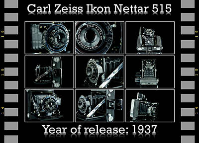 Carl Zeiss Ikon Nettar 515 Set Art Print