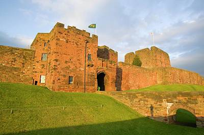 Castle Gate Photograph - Carlisle Castle In Cumbria by Ashley Cooper