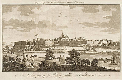 Carlisle, Cumbria, England     Date 1779 Art Print by Mary Evans Picture Library