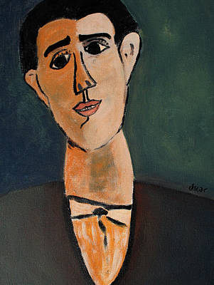 Painting - Carlo  by Oscar Penalber