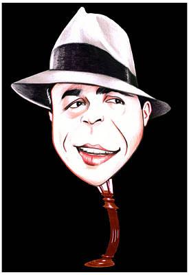 Drawing - Carlos Gardel by Diego Abelenda