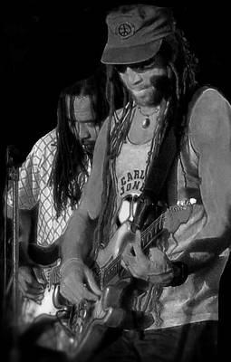 Photograph - Carlos Jones - Reggae by Patricia Januszkiewicz