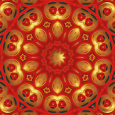 Digital Art - Carlotta - For Metallic Paper by Wendy J St Christopher