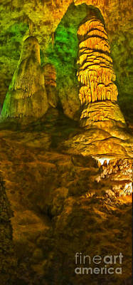 Painting - Carlsbad Caverns by Gregory Dyer