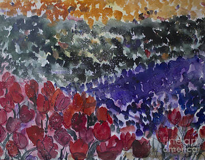Carlsbad Flower Fields #4 Art Print by Avonelle Kelsey