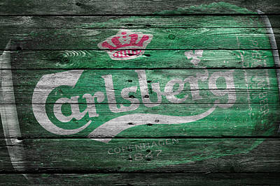 Cans Photograph - Carlsberg by Joe Hamilton