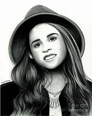 Carly Rose Sonenclar Art Print