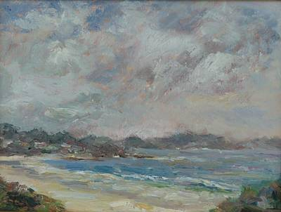 Painting - Carmel Beach by Edward White