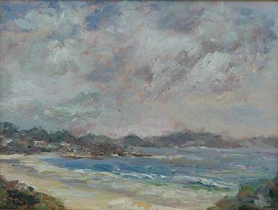 Painting - Carmel Beach by Edward White