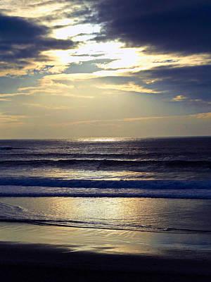 Carmel Beach Sunset Art Print