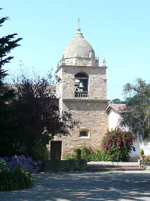 Photograph - Carmel Bell Tower by Duwayne Williams