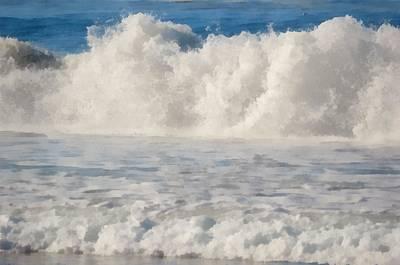 By The Sea Digital Art - Carmel By The Sea California Beach by Barbara Snyder