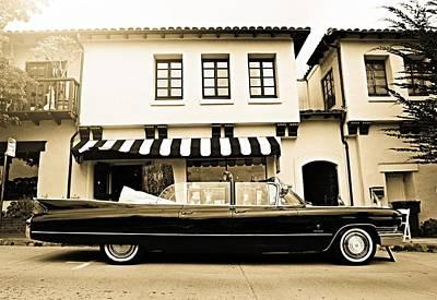Carmel Cadillac Art Print