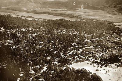Photograph - Carmel California Circa 1924 by California Views Mr Pat Hathaway Archives