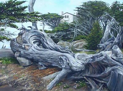 Painting - Carmel Gray by Craig Shillam