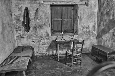 Photograph - Carmel Mission 1 Bw by Ron White