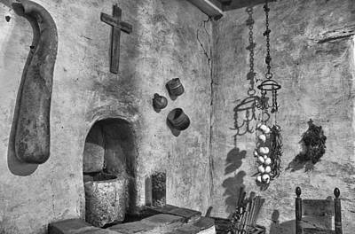 Photograph - Carmel Mission 2 Bw by Ron White