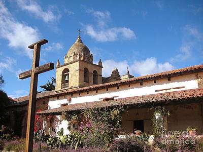 Photograph - Carmel Mission 2 by Theresa Ramos-DuVon