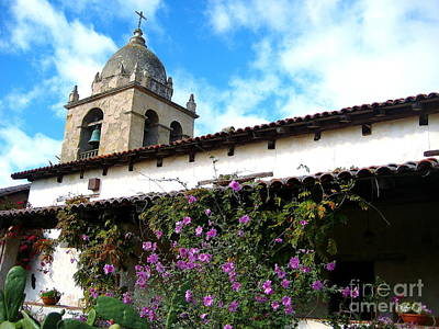 Photograph - Carmel Mission 5 by Theresa Ramos-DuVon