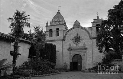 Photograph - Carmel Mission by James B Toy
