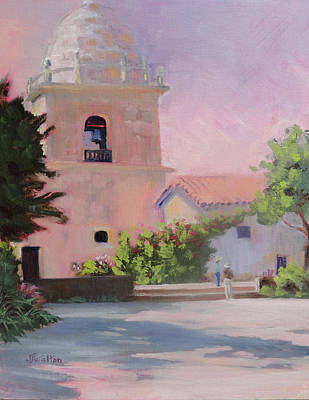 Painting - Carmel Mission  by Judy Fischer Walton