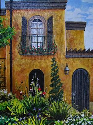 Painting - Carmel Residence by Karen Olson