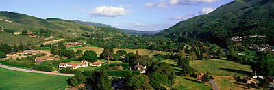 Vale Photograph - Carmel Valley Overlook In Panoramic by Panoramic Images